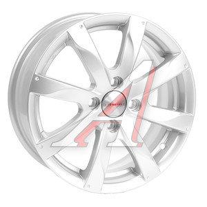 Диск колесный литой RENAULT Logan LADA Largus NISSAN Almera (13-) R15 Джемини БП КС-617 K&K 4x100 ЕТ50 D-60,1