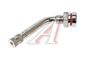 Вентиль бескамерной шины для грузовых автомобилей L=25х49 угол 60град. хром TR-544D