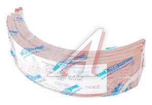 Накладка тормозной колодки ЗИЛ-5301 задней сверленая расточенная комплект 4шт.с заклепками 5301-3502105к, 5301-3502105 К-Т