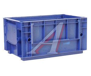 Ящик полимерный многооборотный 297х198х147.5мм синий IPLAST IP-378860, 12.501.61