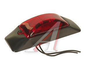 Фонарь габаритный красный INTERPLAS 119990RED, 119990 к