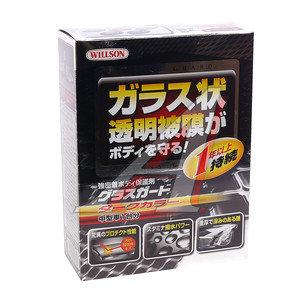 "Полироль WILLSON ""Стеклянная защита"" для темных покрытий 110мл+4.5мл WILLSON WS-01240, WS-01240"