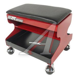 Стул рабочий 350х300х310мм стальной на колесах со съемным сиденьем из пенорезины JTC JTC-5020