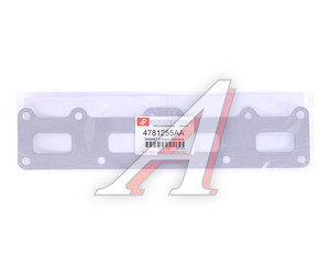 Прокладка ГАЗ-31105 дв.Крайслер коллектора выпускного PARTSPROFI 4781255AA, 4781255АА