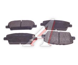 Колодки тормозные HONDA Civic (06-) передние (4шт.) HSB HP5269, GDB3407, 45022-SMG-E51