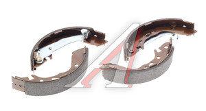 Колодки тормозные HYUNDAI Atos (97-) задние барабанные (4шт.) HSB HS0008, GS8659, 58305-02A00