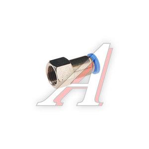 """Фитинг для пластиковых трубок 1/8"""" 4мм с внутренней резьбой ROCK FORCE RF-SPCF04-01"""