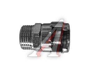 """Переходник для компрессора M3/8"""" гайка для байонетного соединения наружная резьба GAV Италия 47A2 3/8, 15263"""