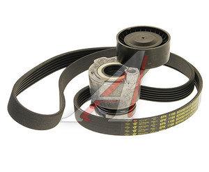Ремень приводной поликлиновой RENAULT Logan,Sandero,Laguna 3 комплект с роликом OE 7701476476