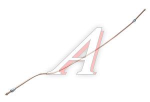 Трубка тормозная УРАЛ от крана тормозного к соединительной головке 2-я СБ L=1440мм/d=10мм медь (ОАО 375-3506210-Г