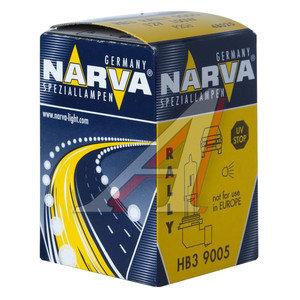 Лампа 12V HB3 100W P20d Rally NARVA 480253000, N-48025