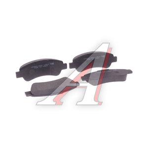 Колодки тормозные PEUGEOT CITROEN FIAT Jumper,Boxer,Ducato (06-) задние (4шт.) HSB HP9969, GDB1682, 425469