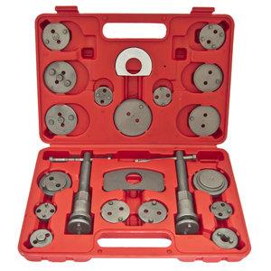 Набор инструментов для сведения тормозных цилиндров 21 предметов ЭВРИКА ER-88110