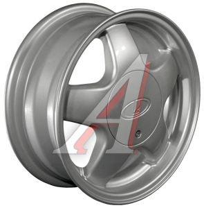 Диск колесный ВАЗ литой R14 5 СПИЦ Сильвер КС-189 K&K 4х98 ЕТ35 D-58,6, A0046