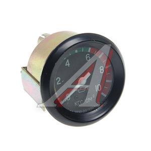 Указатель давления масла МАЗ,КАМАЗ,КРАЗ (от 0 до 10кг/кв.см) механический MEGAPOWER 14.3830-03