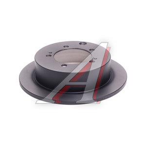Диск тормозной MITSUBISHI Lancer (03-) задний (1шт.) TRW DF4845, MB895200