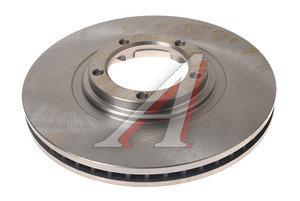 Диск тормозной HYUNDAI Porter 2 передний (1шт.) VALEO PHC R1018, DF4896, 51712-4F000