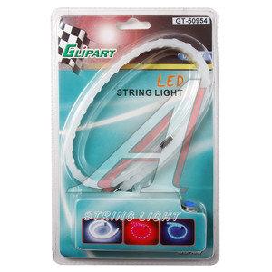 Лента светодиодная гибкая 36 LED 40х1см Blue GLIPART GT-50954B