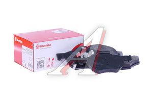 Колодки тормозные HONDA Accord (03-) передние (4шт.) BREMBO P28036, GDB3355, 45022SEAE01/45022SEAEZ1