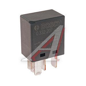 Реле электромагнитное 24V 5-ти контактное DAF MERCEDES SCANIA (с сопротивлением) BOSCH 0 332 207 405, 580106, 1320483/1301879/1448174/3845427119/98444017