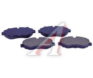 Колодки тормозные MERCEDES Sprinter (906),Vito (W639) передние (4шт.) SANGSIN SP1622, GDB1698