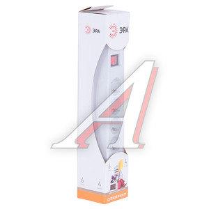 Фильтр сетевой 4м 10А 2200Вт, 6 гнезд, с заземлением, выключатель, евро, белый ЭРА SF-6es-4m-W, ER-SF6ES4W, ЭРА