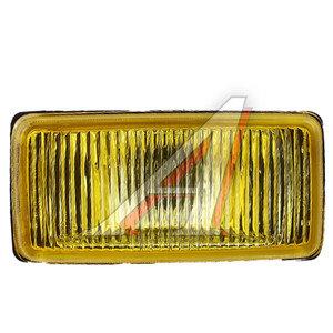 Фара противотуманная 12V 195х95мм с крышкой желтая 1шт. SIRIUS NS-1181Y(F)