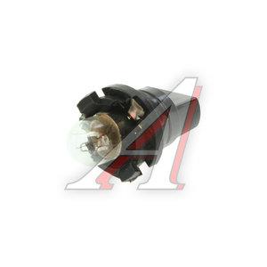 Лампа 12V 0.8W с патроном подсветка панели приборов А12-T3-0.8W, A12-T3-0.8W