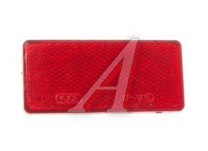 Катафот прямоугольный на липучке (красный) АВТОТОРГ 340501 к( 90*40), 340501 к