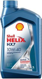 Масло моторное HELIX HX-7 п/синт.1л SHELL SHELL SAE10W40