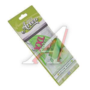Ароматизатор подвесной пластина (яблоко зеленое) Mon XXL AREON MAX06, 704-064-906