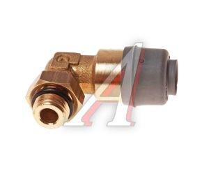 Соединитель трубки ПВХ,полиамид d=8мм (наружная резьба) М10х1 угольник латунь CAMOZZI 9502 8-M10X1