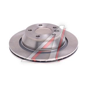 Диск тормозной VW Touareg (03-10) задний (1шт.) KORTEX KD0206, DF4718S, 7L6615601E
