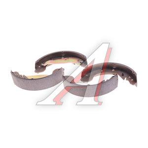 Колодки тормозные CHEVROLET Rezzo (00-) задние барабанные (4шт.) HSB HS2008, GS8748, 96394977