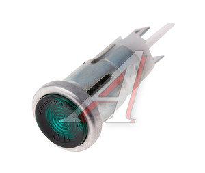 Лампа контрольная 12V зеленая ОСВАР 121.3803, 121.3803010