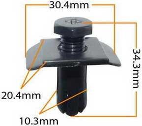 Пистон обивки универсальный KJ-1040 MASUMA KJ-1040