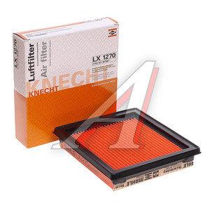 Фильтр воздушный NISSAN Micra K11,K12 (92-03),Note (06-) MAHLE LX1270, 16546-AX600