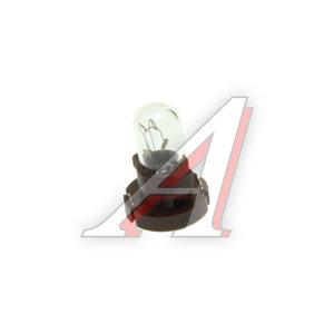 Лампа 12V Т5.1 1.75W пластиковый цоколь KOITO 1566, E1566