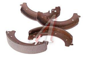 Колодки тормозные ВАЗ-2101 задние (4шт.) ALLIED NIPPON ABS1702, 2101-3502090