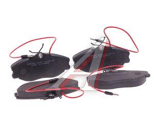 Колодки тормозные PEUGEOT 306,406 CITROEN Xantia передние (4шт.) HSB HP8392, GDB1259, 4251.43