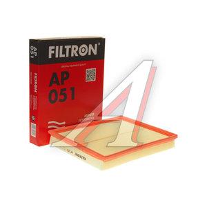 Фильтр воздушный OPEL Astra G,H,Zafira B FILTRON AP051, LX735, 5834282/93192885