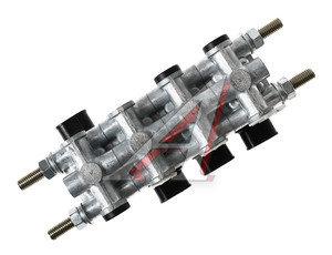 Блок КАМАЗ-ЕВРО электромагнитных клапанов РОДИНА БЭК 37.004-01, БЭК 37.004-01 (четыре клапана)