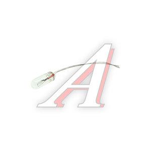 Лампа 24V 0.5W d=4мм провод 13мм бесцокольная подсветка кнопок А24-0.5 4х13мм, A24-0.5 4х13мм