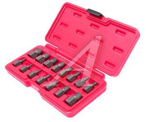 """Набор экстракторов 1/8""""-1/2"""" 3-14мм в кейсе 15 предметов JTC JTC-4639"""