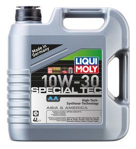 Масло моторное LEICHTLAUF SPECIAL AA HC-синт.4л LIQUI MOLY LM SAE10W30 7524, 84136