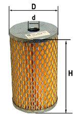 Элемент фильтрующий ГАЗ-53 масляный металл DIFA 53-1012040, 5307М, 53-11-1017140