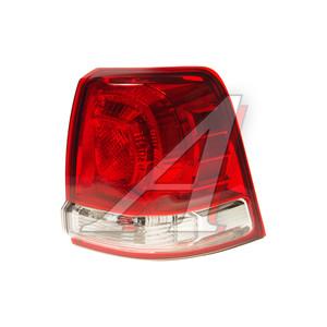 Фонарь задний TOYOTA Land Cruiser (08-) правый (наружный) TYC 11-B7030015B3, 212-19Q7R-AE, 81551-60820