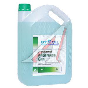 Антифриз зеленый -40C 5кг GT Polarcool GT OIL GT OIL G11
