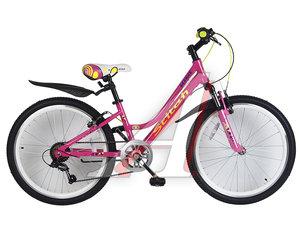 """Велосипед 24"""" 7-ск. (AL-рама) STITCH T19B902-24 B, 166"""