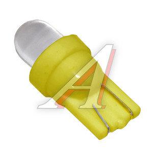 Лампа 12VхW5W (W2.1х9.5d) ROUND YELLOW 1 свет-од MEGA ELECTRIC ME-0407Y, А12-5-2
